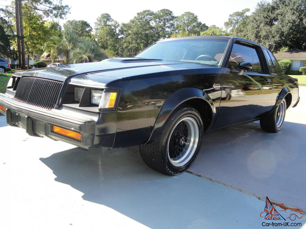 1986 original buick grand national t tops gnx wheels 3. Black Bedroom Furniture Sets. Home Design Ideas