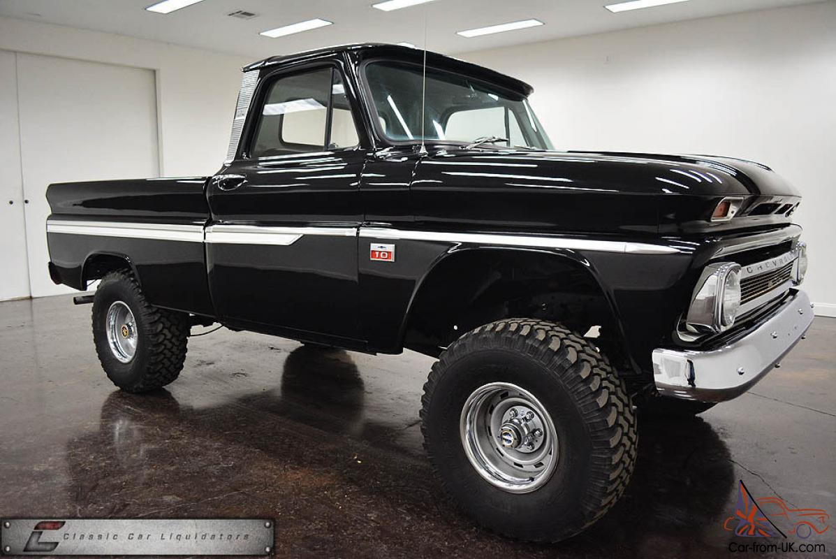 1966 Chevrolet K10 4x4 SWB COOL TRUCK LOOK