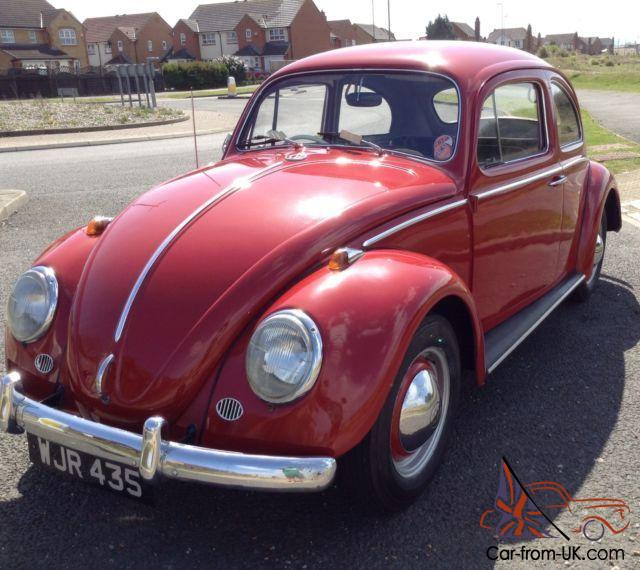 Volkswagen Bug For Sale: VW BEETLE 1962 RHD UK CAR