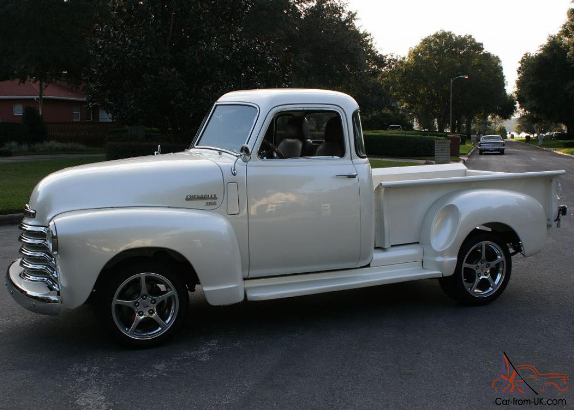 1950 chevy pickup restomod for autos post. Black Bedroom Furniture Sets. Home Design Ideas