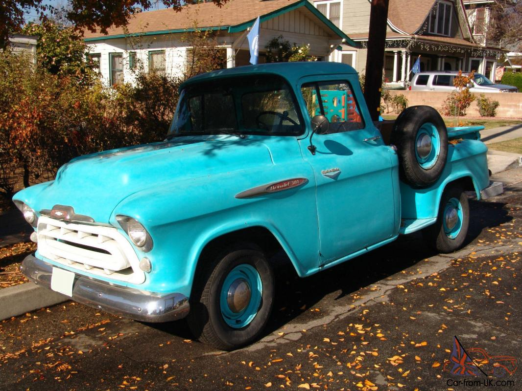 57 chevy truck for sale autos post. Black Bedroom Furniture Sets. Home Design Ideas