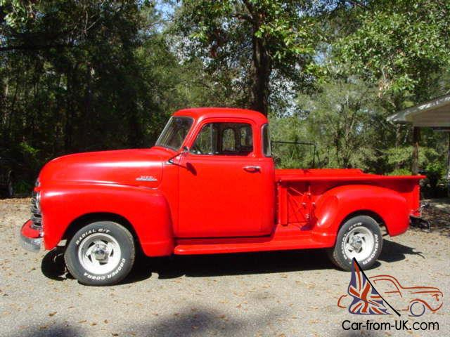 1953 chevy 1 2 ton 5 window shortbed stepside pickup truck for 1953 5 window