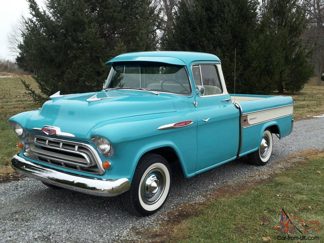 1957 Chevrolet Cameo Carrier 3124 Halfton Pickup