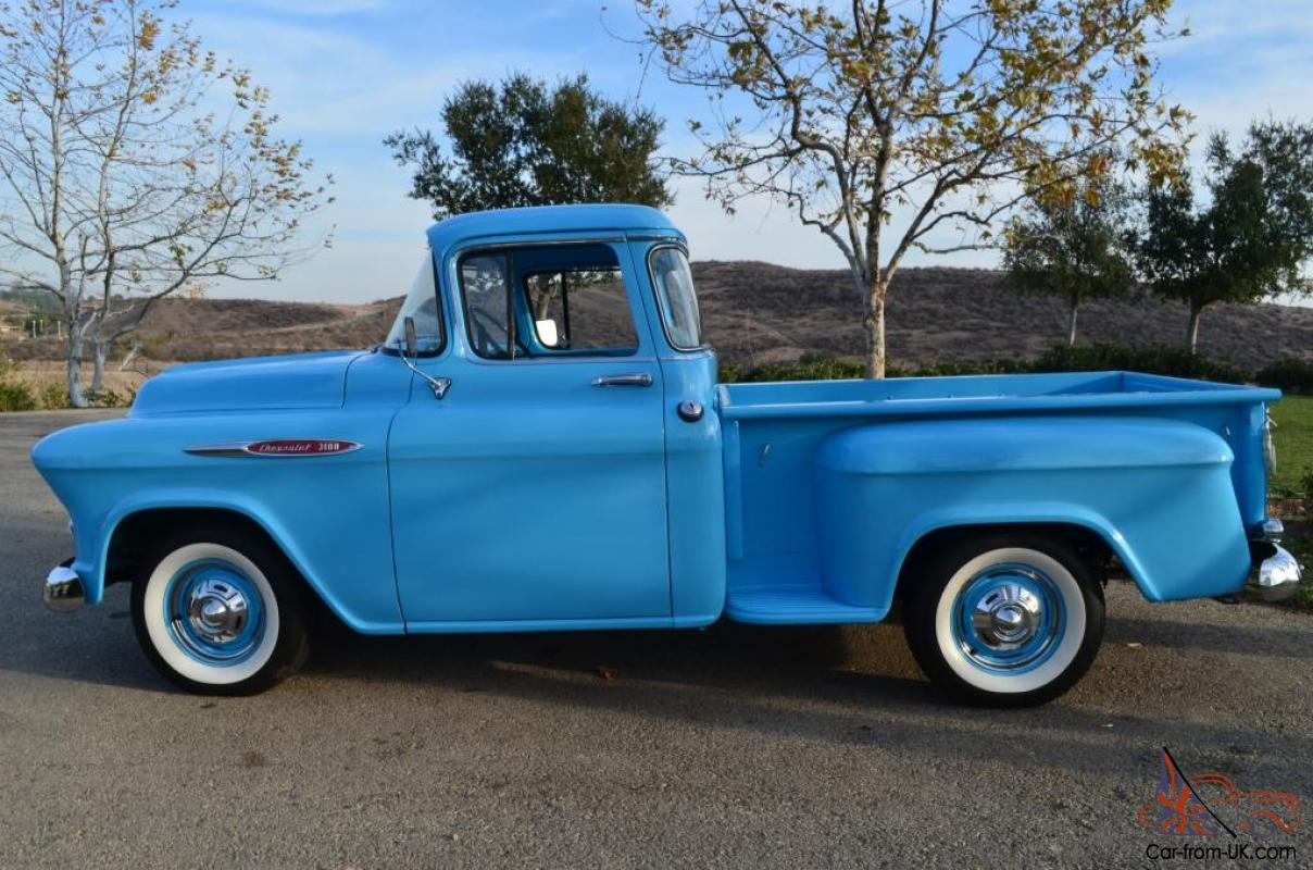 1957 chevrolet 3100 short bed step side big window pick up for 1957 chevy big window truck for sale