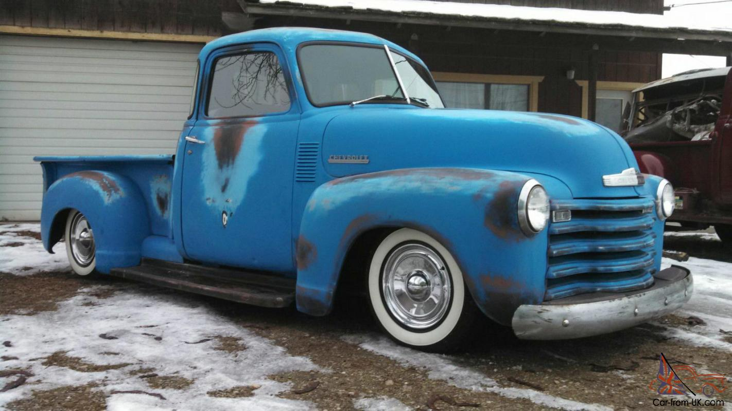 1951 chevy 5 window pickup kustom oldschool hot rod for 1951 chevy 5 window pickup for sale