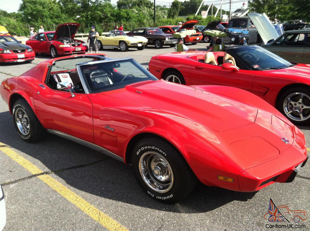 1975 chevrolet corvette stingray t tops 2 door 5 7l matching s 4. Cars Review. Best American Auto & Cars Review