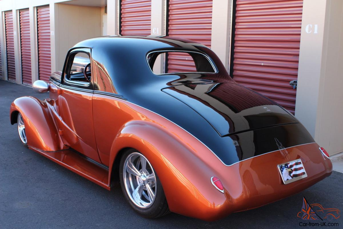1938 Chevy Chevrolet Custom Coupe Hot Rod Hotrod HP ...