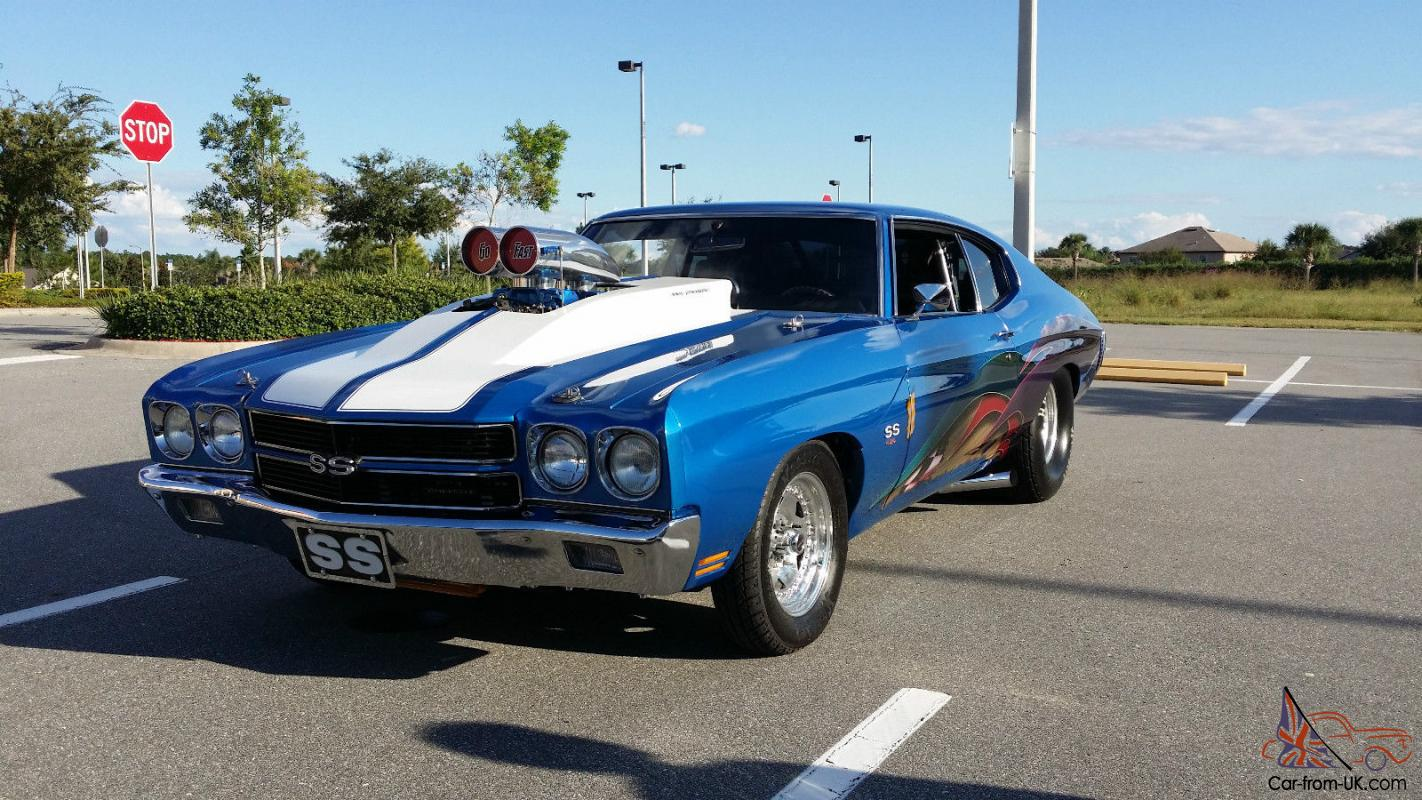 Chevrolet Chevelle Pro Street - Wicked - Jaw Droping - Earth Shaking ...