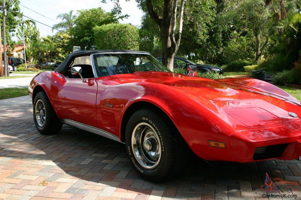 1975 chevrolet corvette stingray convertible 2 door 5 7l for sale. Cars Review. Best American Auto & Cars Review