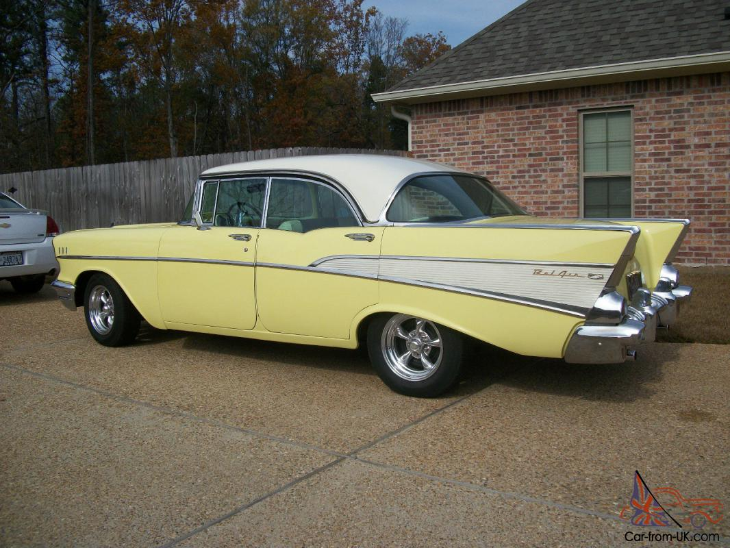 1957 chevrolet belair 4 door sport sedan for 1957 chevrolet 4 door
