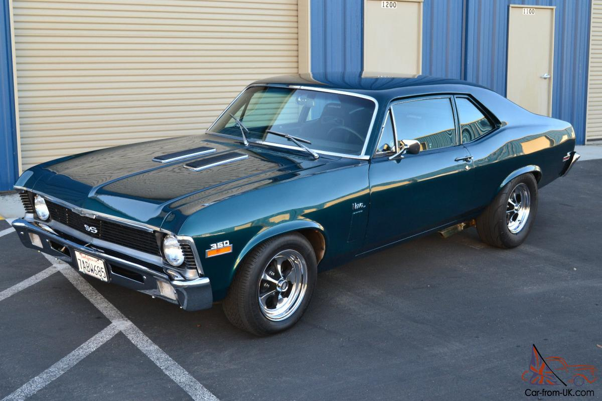 1970 Chevrolet Nova Base Coupe 2-Door 5.7L Incredible Restoration ...