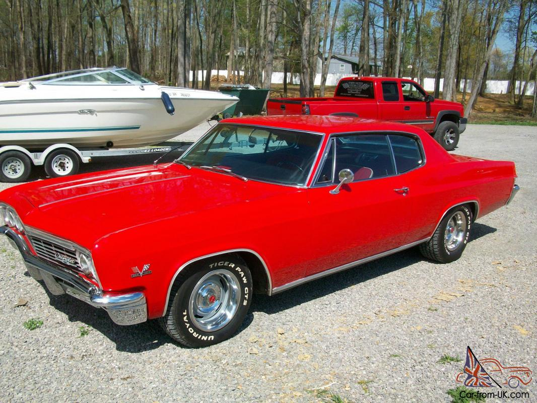 1966 Chevrolet Caprice Factory Big Block Chevy For Sale