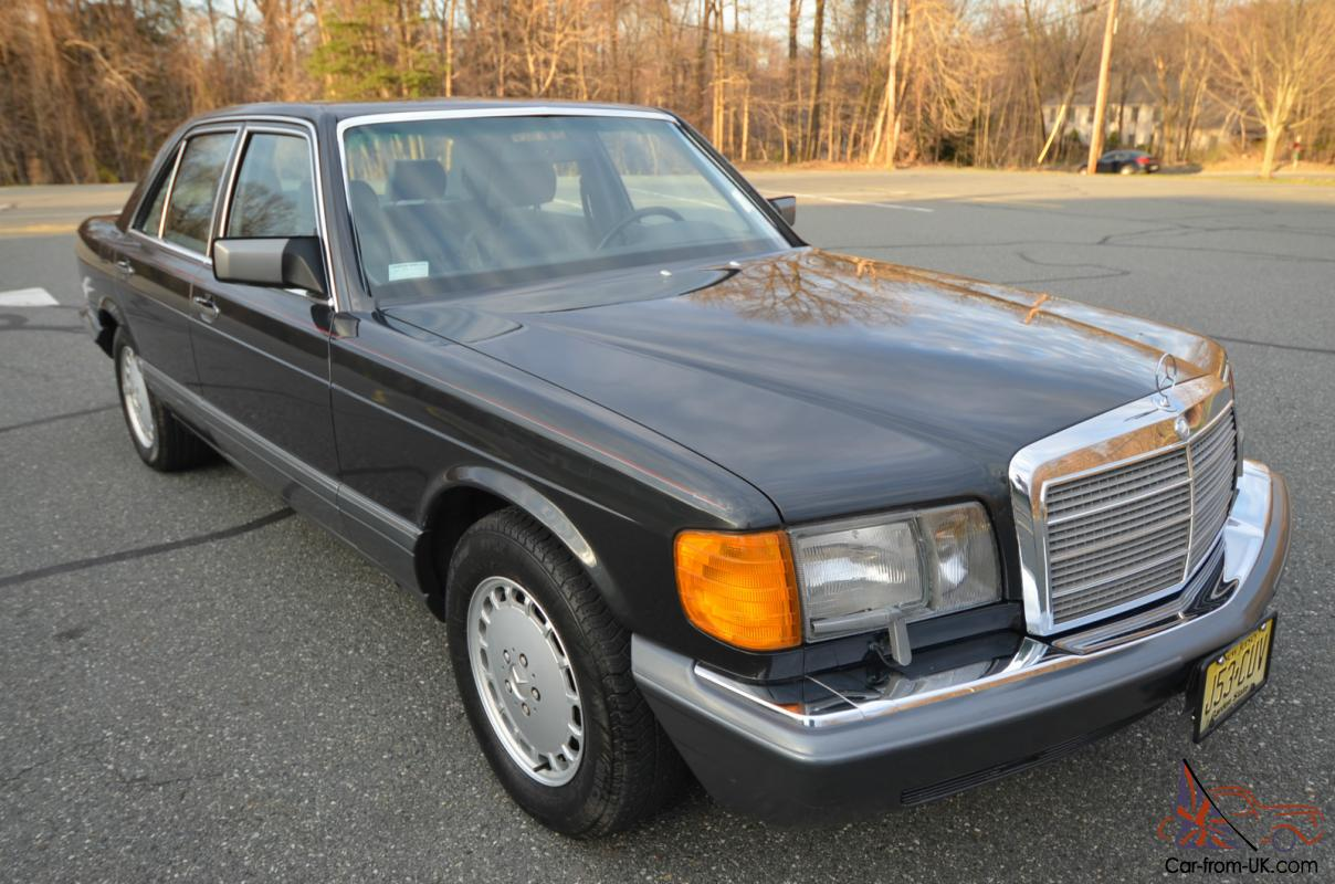 1989 mercedes benz 300se 1 owner 24 years 83 000 miles