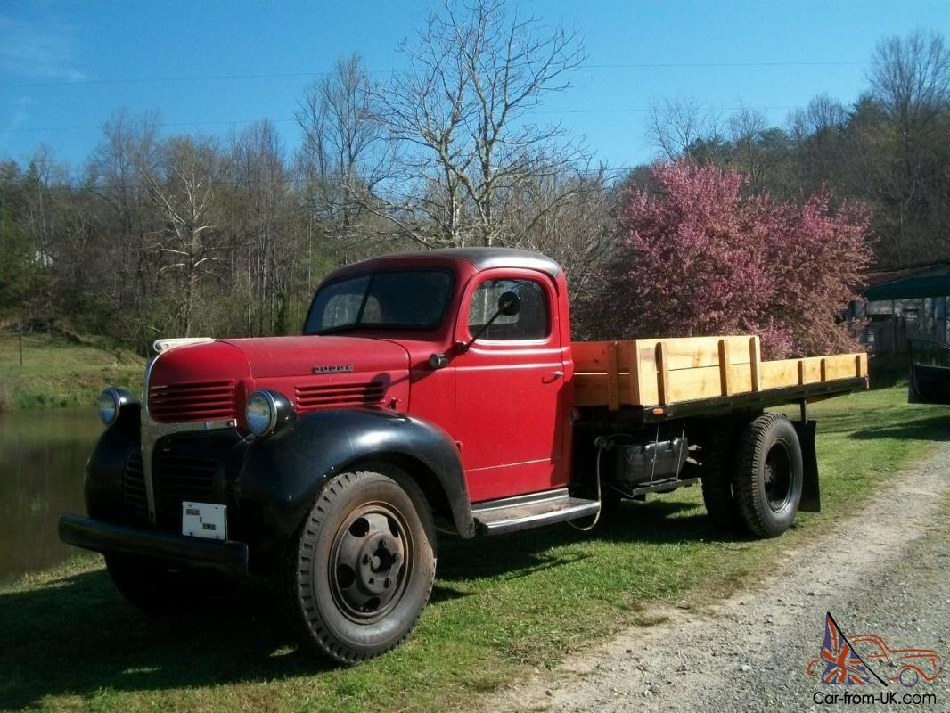 1947 dodge ton and half truck. Black Bedroom Furniture Sets. Home Design Ideas