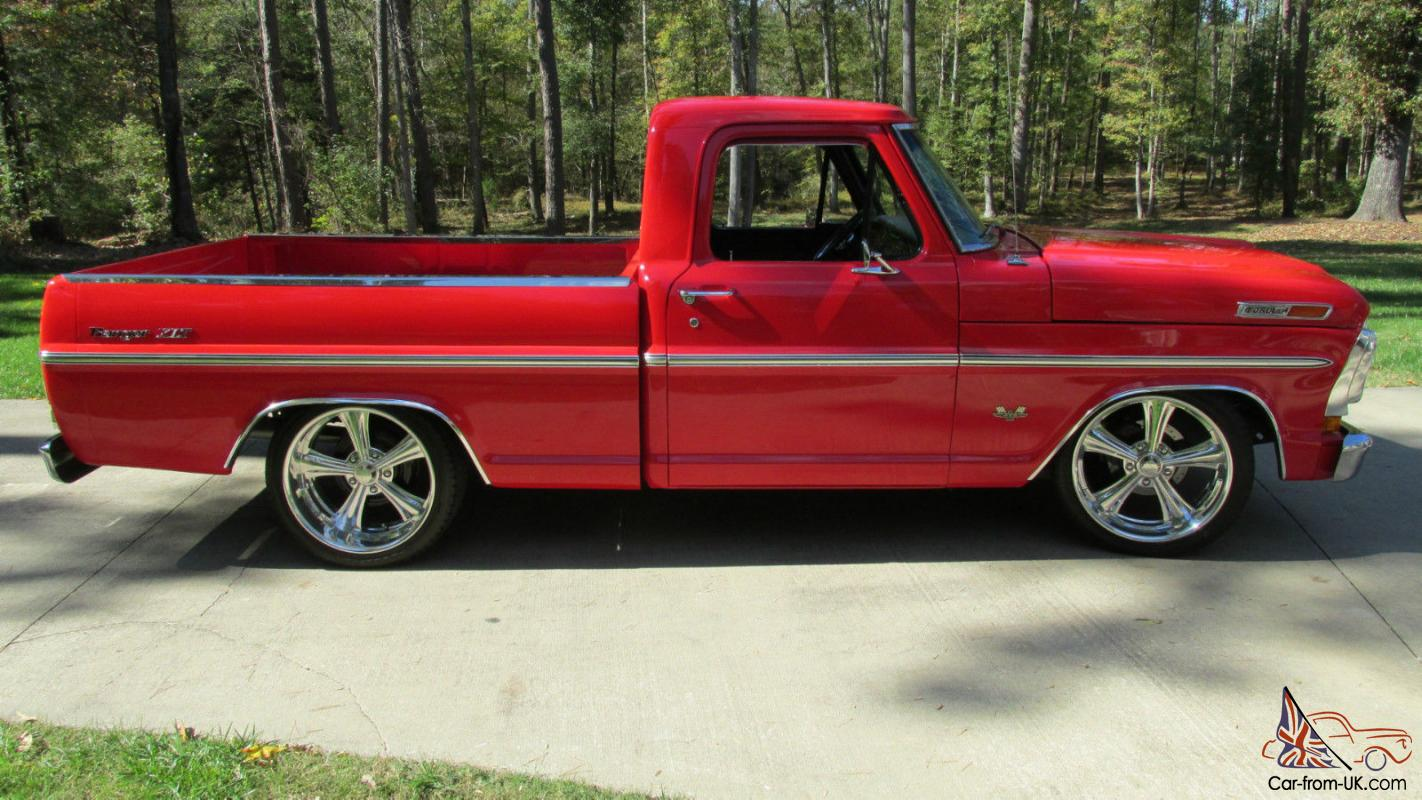 1970 Ford F100 Ranger Xlt Short Bed Pickup Show Truck