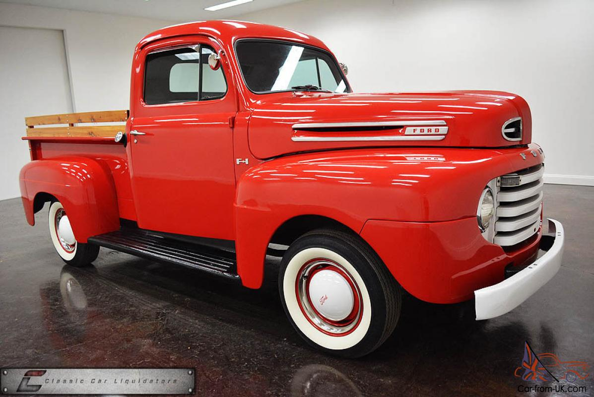 1950 ford f 1 pickup nice truck. Black Bedroom Furniture Sets. Home Design Ideas