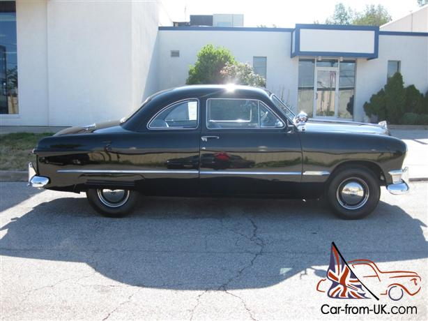 1950 ford club coupe very nice restored. Black Bedroom Furniture Sets. Home Design Ideas
