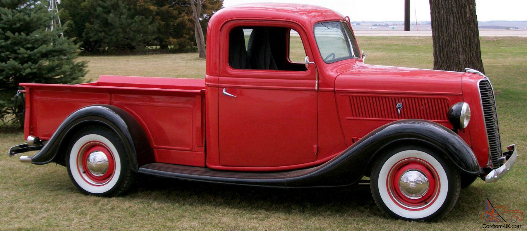 1937 Ford Pickup, Trophy winning Wolf in Sheep's Clothing, 5.2Ltr, 5-Spd  Tremec