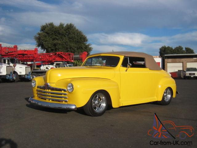 1946 ford convertible street rod 1947 1948 no reserve. Black Bedroom Furniture Sets. Home Design Ideas