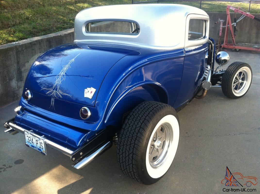 1932 ford coupe 3 window for 1932 3 window ford