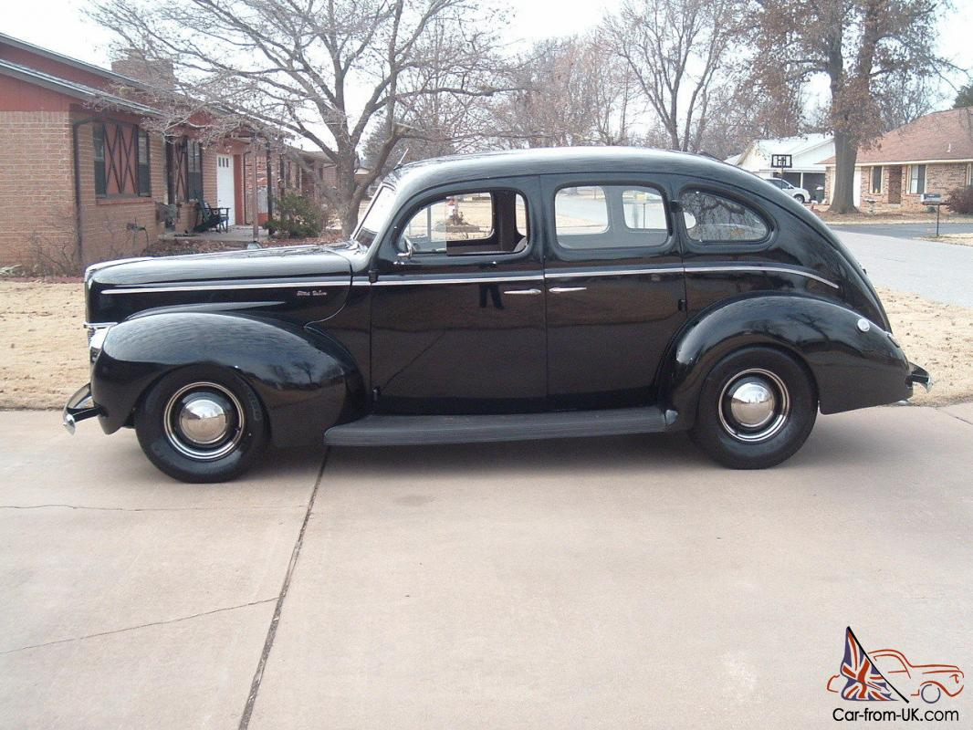 1940 ford 4 dr sedan classic hot rod old school for 1940 door