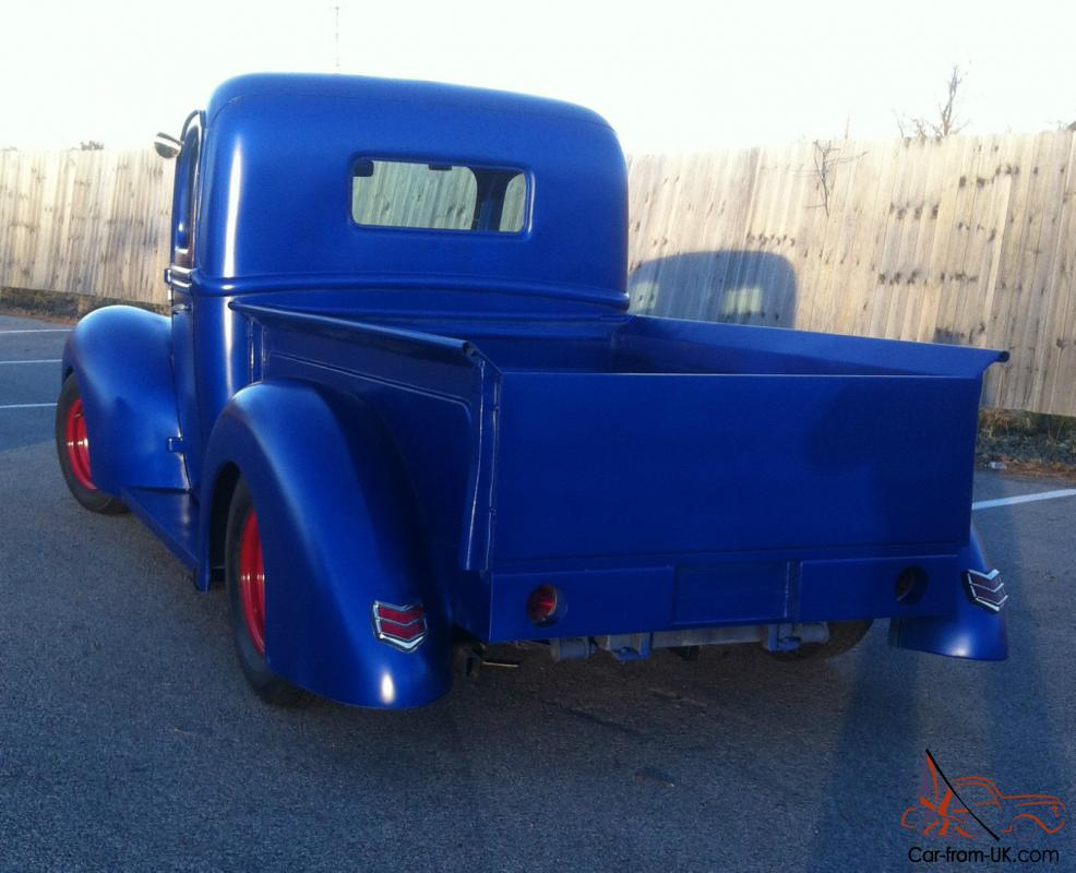 1941 Ford Pickup 454 Bbc Hot Rod Rat Shop Truck Same As 1940 Flatz