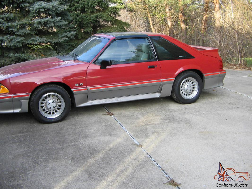 1988 mustang gt t top survivor car fox body
