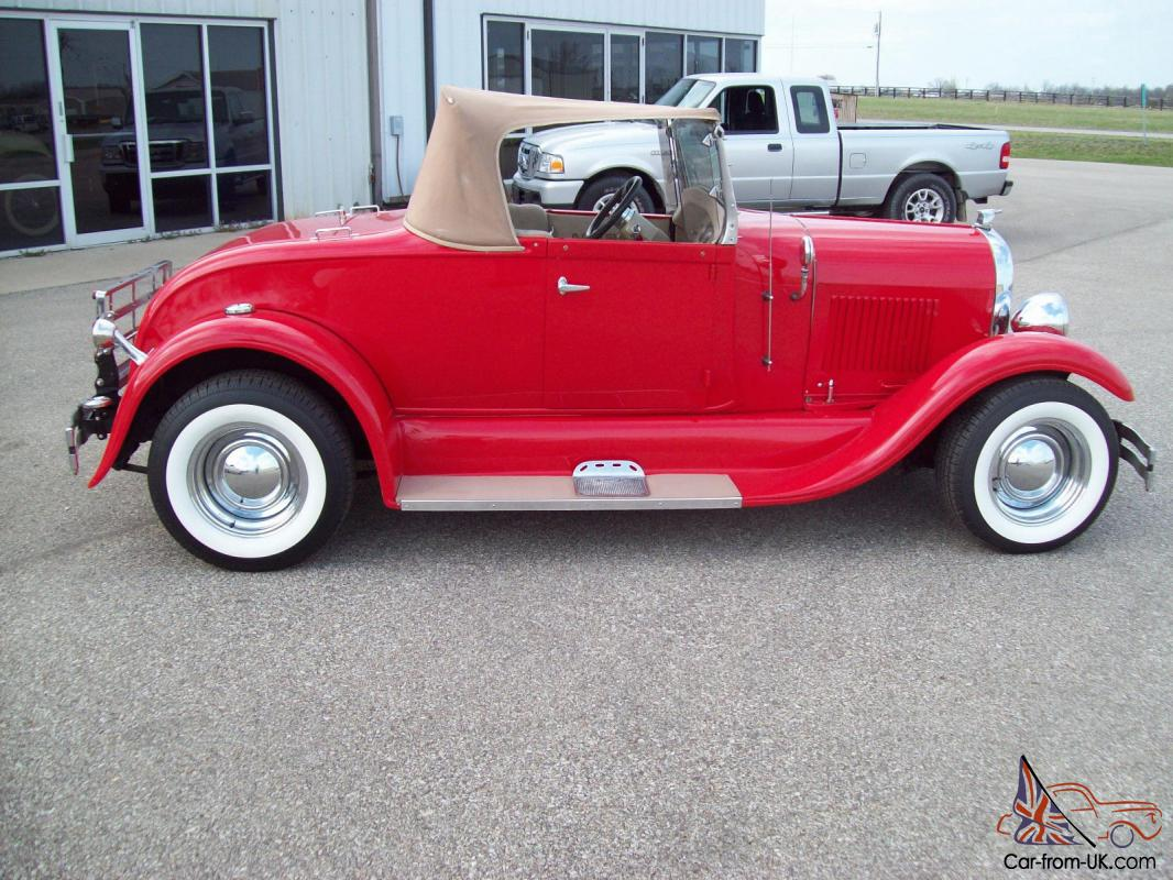 1929 Ford Model A Shay Roadster