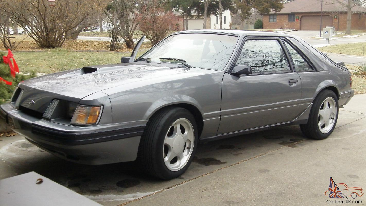 1985 svo mustang comp prep 5 spd leather 2 3 turbo. Black Bedroom Furniture Sets. Home Design Ideas
