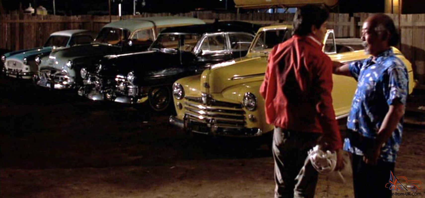 Yellow Car In Karate Kid
