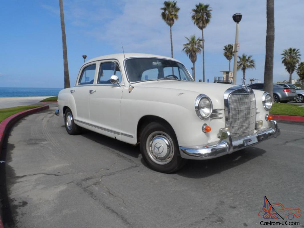 1961 mercedes benz 190db 190 diesel no reserve for Classic mercedes benz for sale ebay