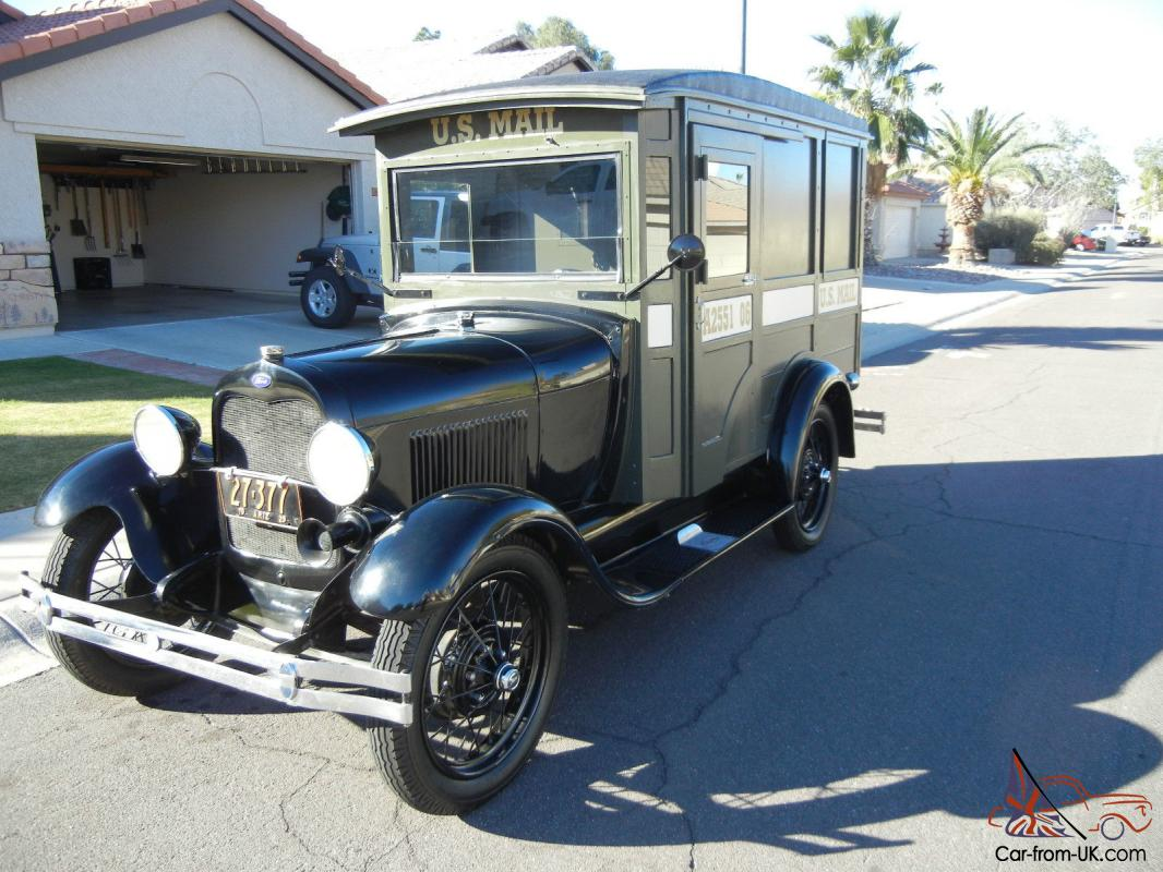 1929 Model A Mail Truck, Unique And In Great Condition