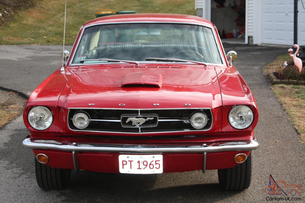 1965 ford mustang modified 302 photo