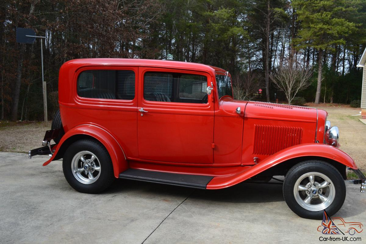 1932 32 Ford Sedan Real Steal Henry Ford Deuce Hot Rod