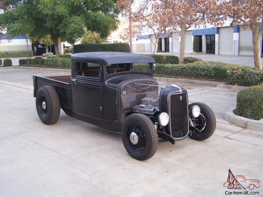1933 Ford Truck, Rat Rod, Flathead, SCTA, Hot Rod