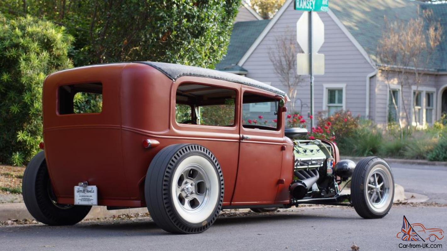 1930 ford model a rat rod hot rod street rod custom. Black Bedroom Furniture Sets. Home Design Ideas