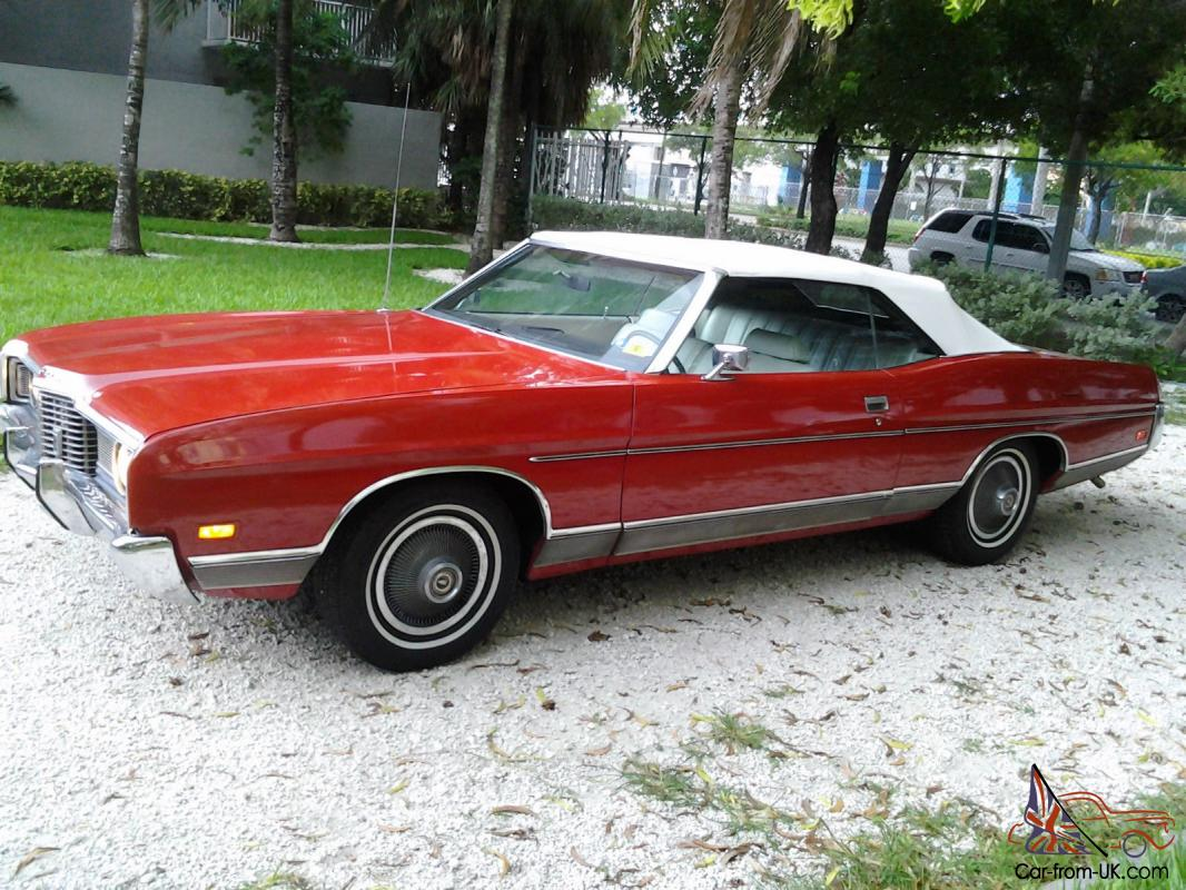 1972 ford ltd limited convertible
