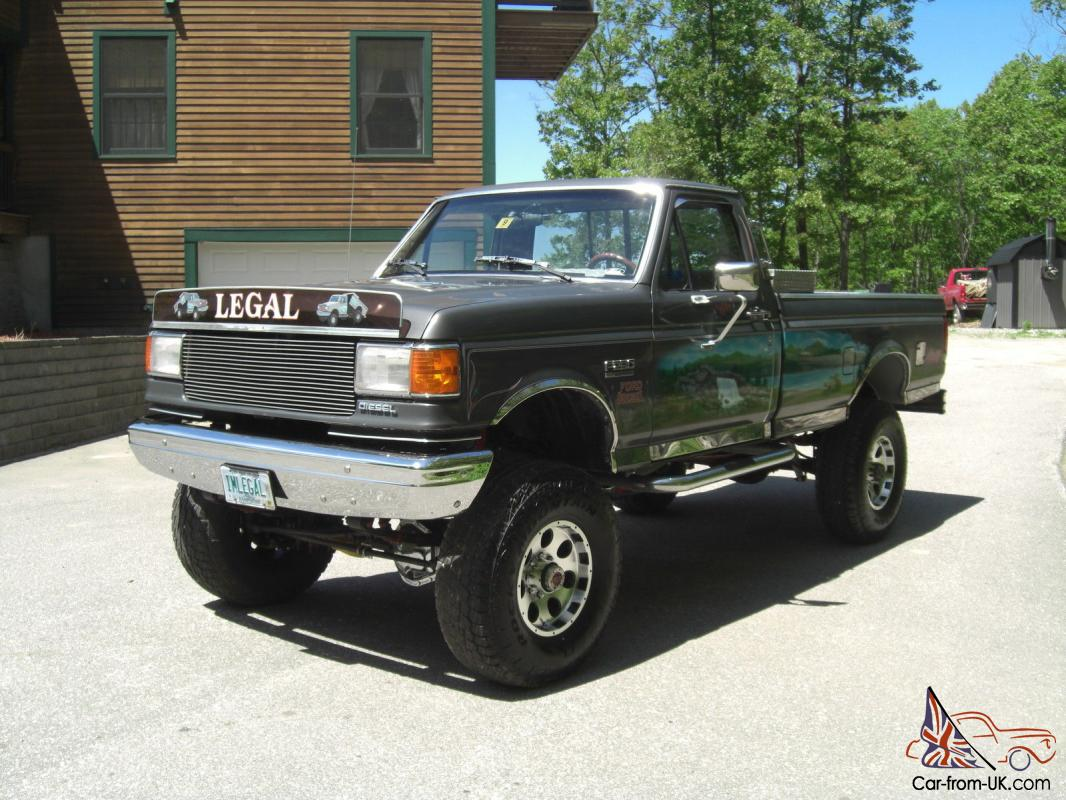 1987 Ford F-350 6.9L sel 5 speed 4x4 immaculate show truck dump bed  F L X Wiring Diagram on