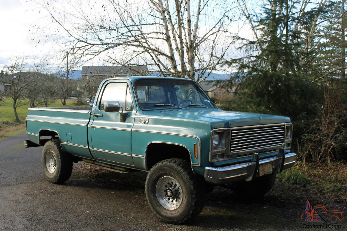1979 gmc k25 royal sierra 3 4 ton 4x4 truck like chevy bonanza. Black Bedroom Furniture Sets. Home Design Ideas