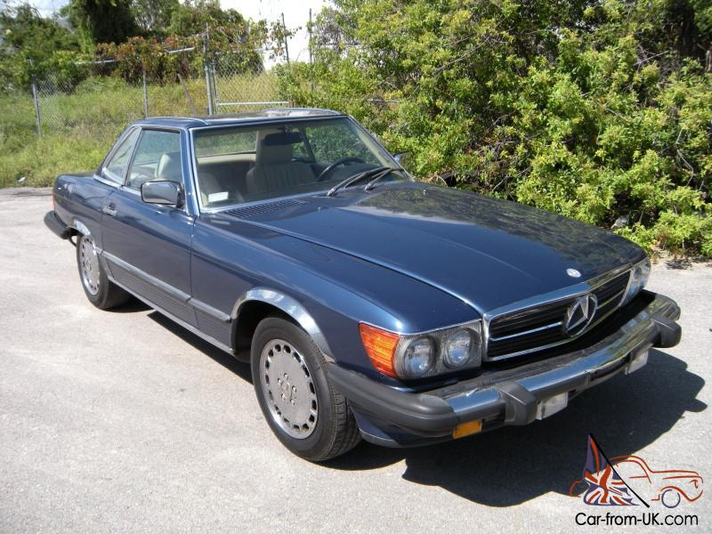 1988 mercedes benz 560sl rust free matching numbers r107 for 1988 mercedes benz 560sl