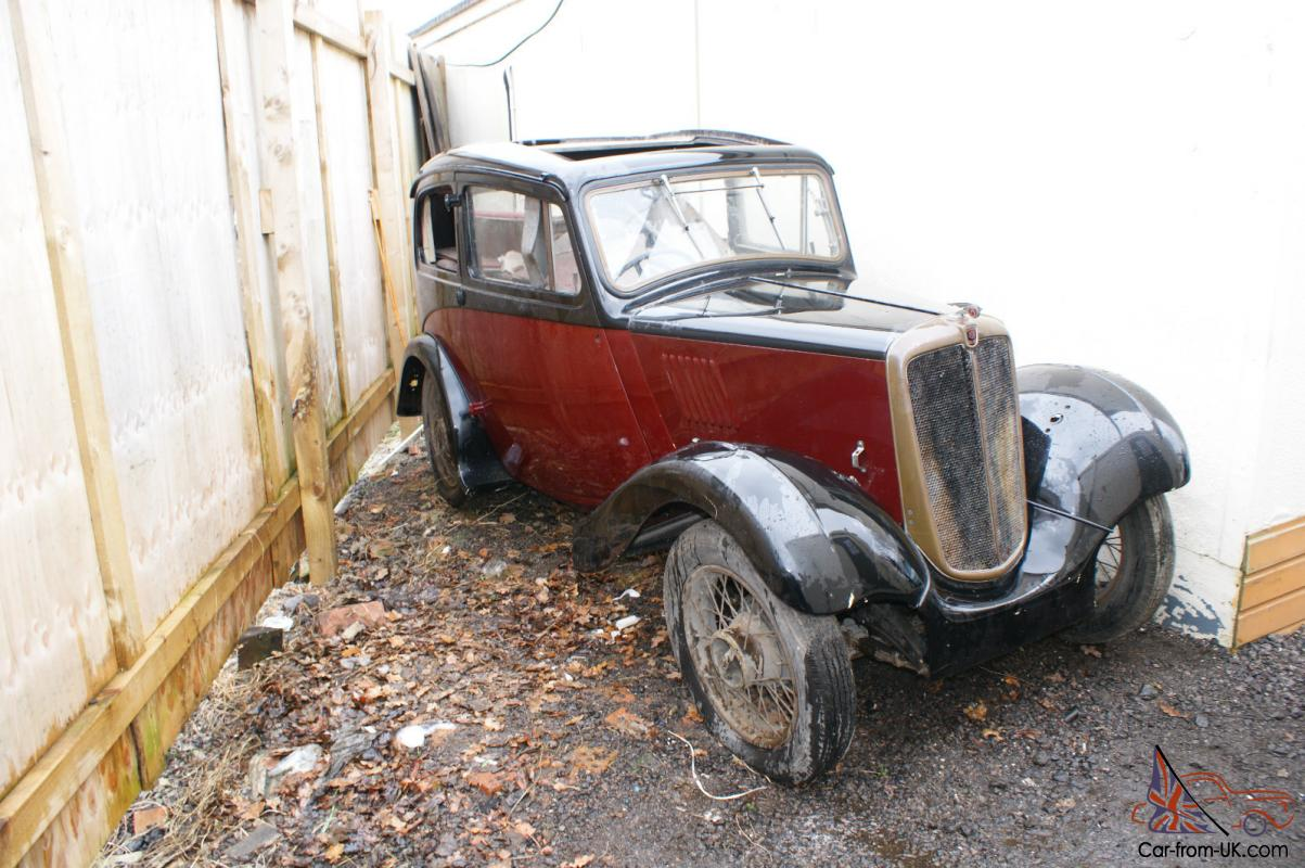 1936 AUSTIN / MORRIS 8 EIGHT UNFINISHED CLASSIC CAR PROJECT