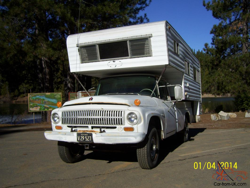 1966 ihc international 1200 4x4 3 4 ton truck and camper rebuilt engine ac in ca. Black Bedroom Furniture Sets. Home Design Ideas