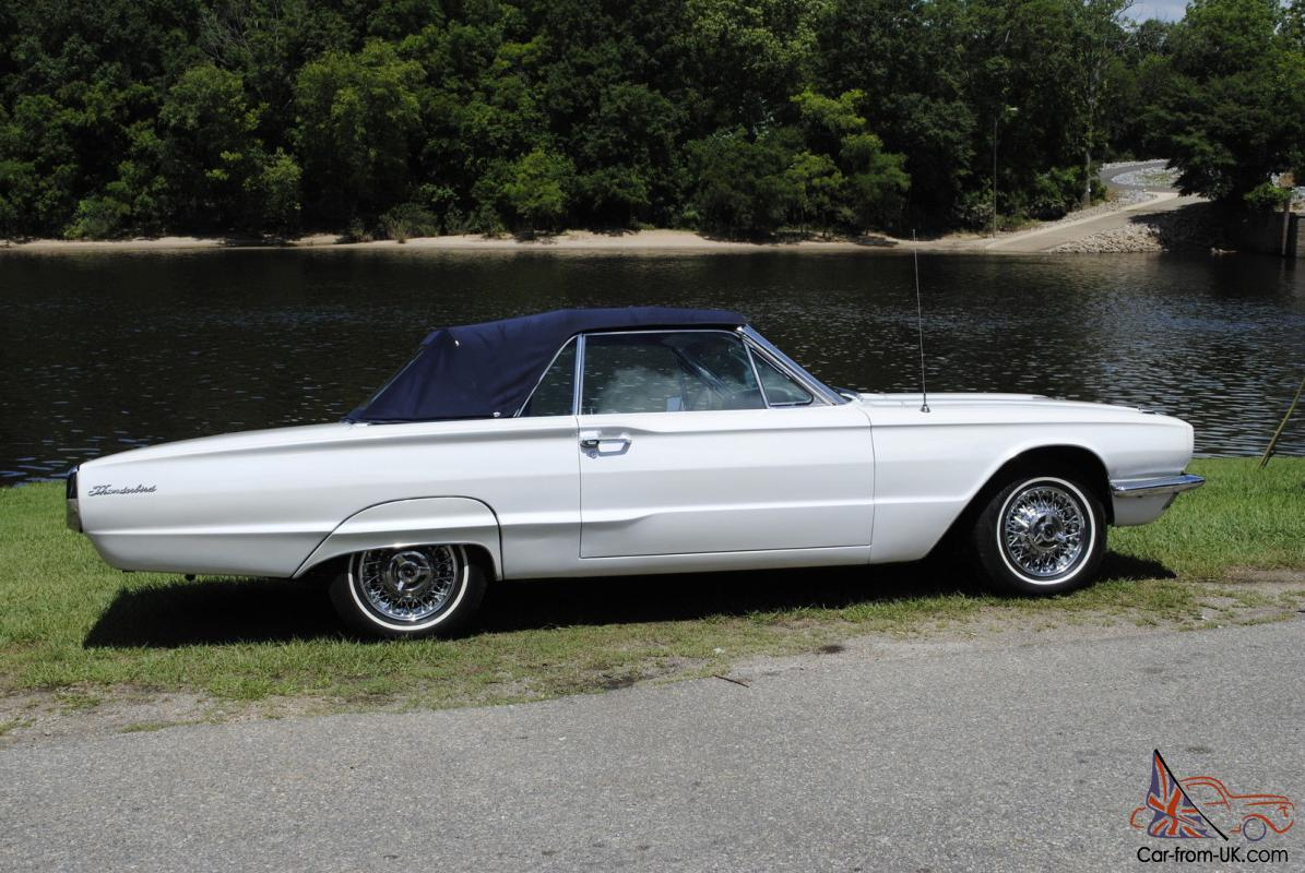 1966 ford thunderbird base convertible 2 door 6 4l. Black Bedroom Furniture Sets. Home Design Ideas