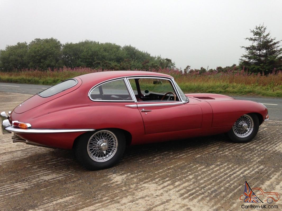 stunning 1966 jaguar e type 4 2 series 1 2 2. Black Bedroom Furniture Sets. Home Design Ideas
