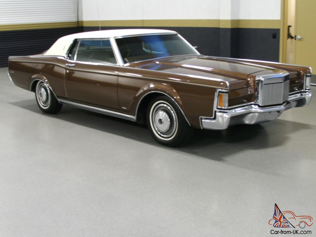1971 lincoln continental mark iii pristine. Black Bedroom Furniture Sets. Home Design Ideas