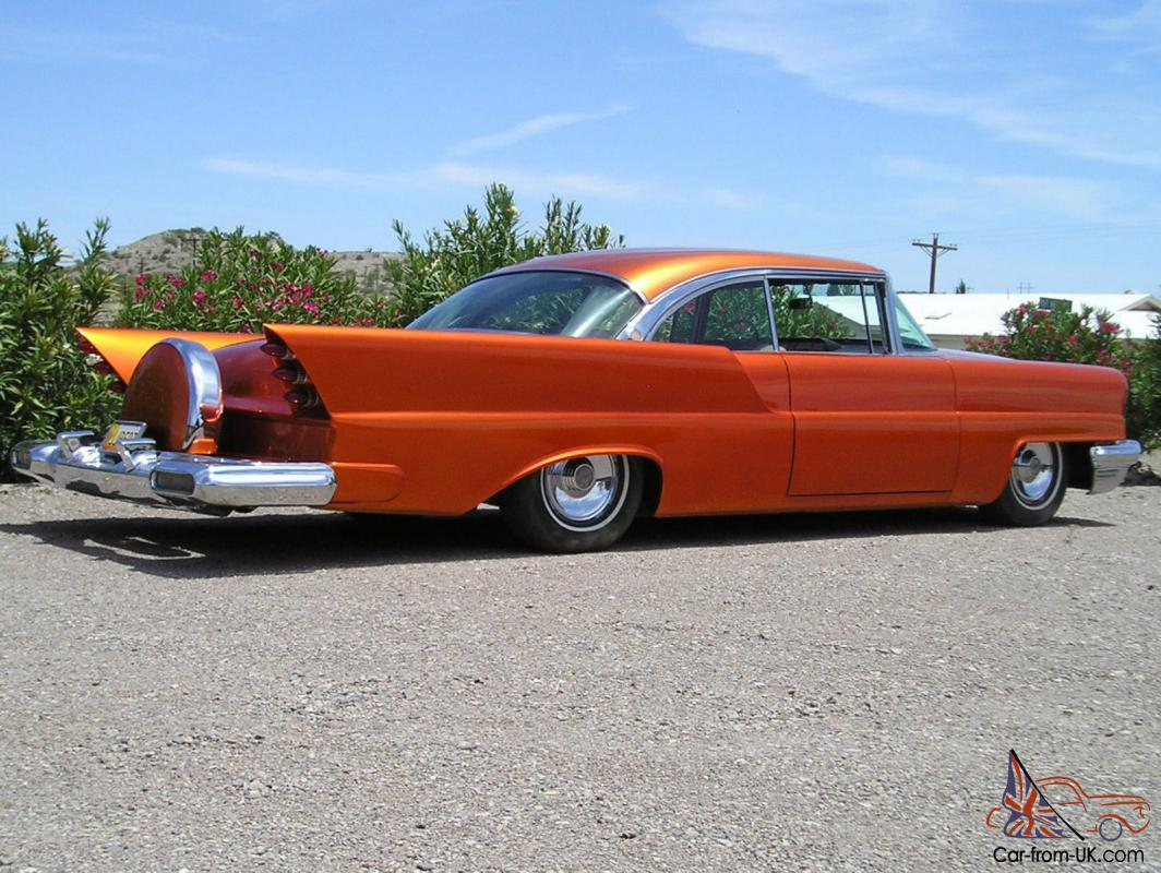 1957 Lincoln Premiere Custom Rod Candy Tangerine