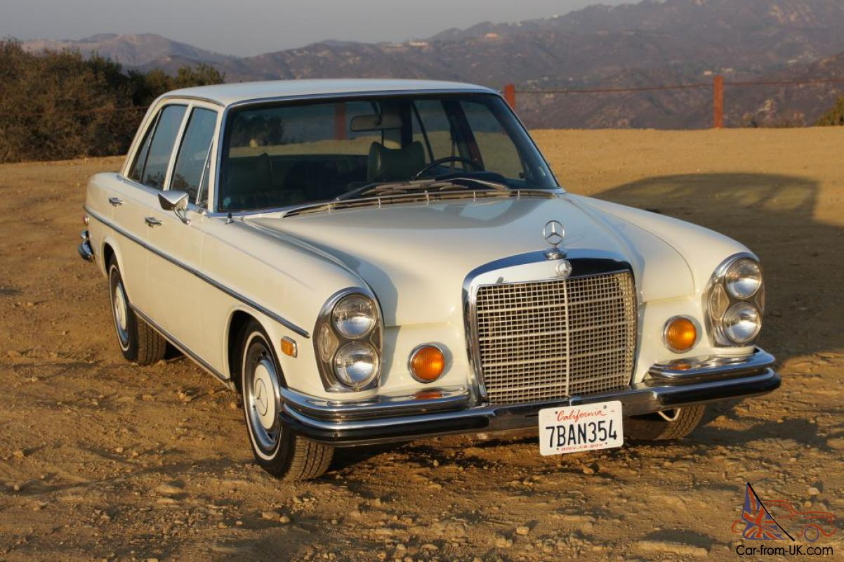 1972 mercedes benz 280se 4 5 21k original miles no reserve for 1972 mercedes benz
