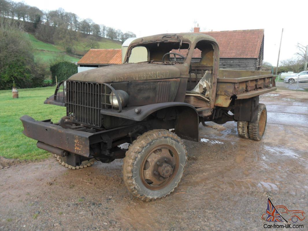 CHEVROLET G506 CARGO TRUCK WITH WINCH BARN FIND FOR FULL ...