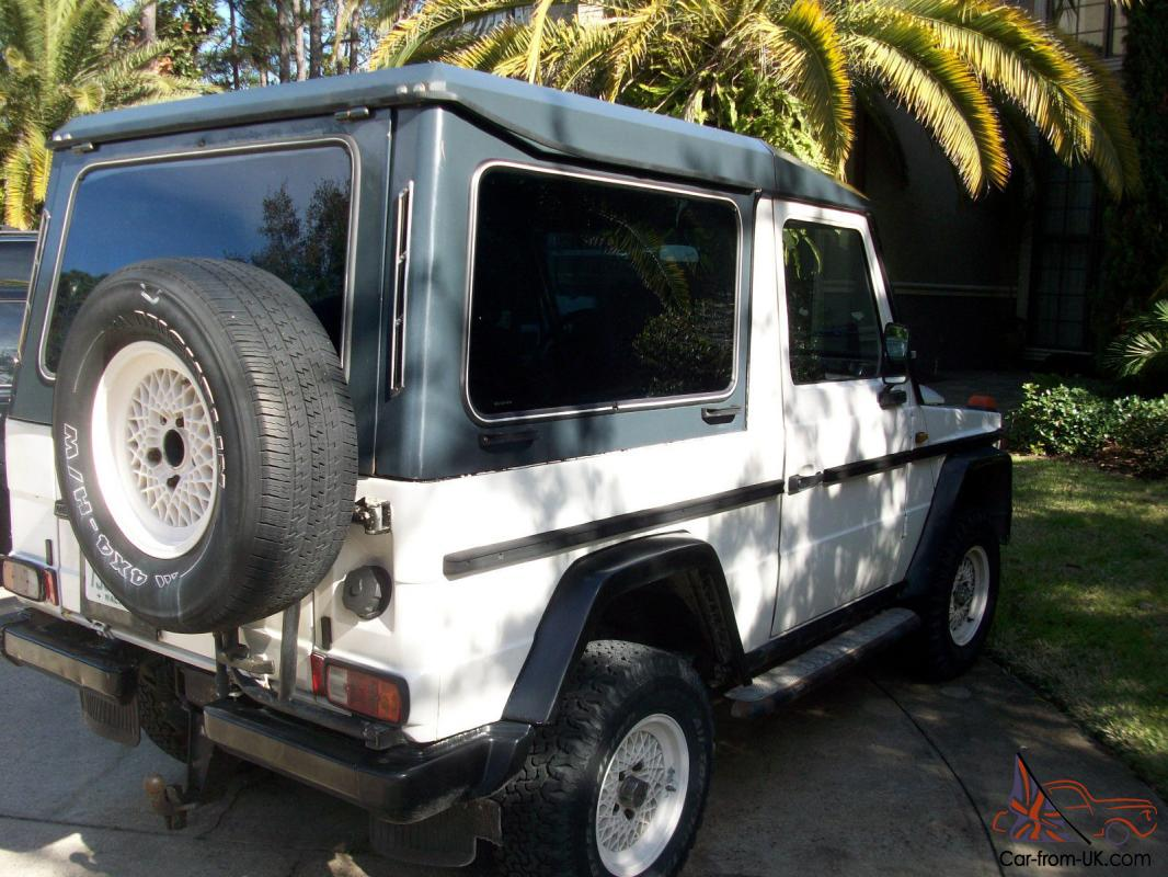 1984 300gd mercedes benz g wagon cabrio diesel with hard top. Black Bedroom Furniture Sets. Home Design Ideas