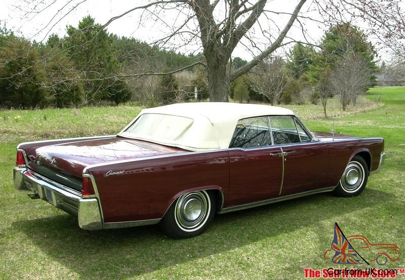 rare survivor 1964 64 lincoln continental convertible v8. Black Bedroom Furniture Sets. Home Design Ideas